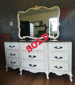 Sold French Provincial dresser