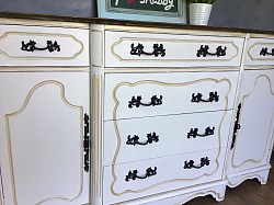 White French provincial sideboard
